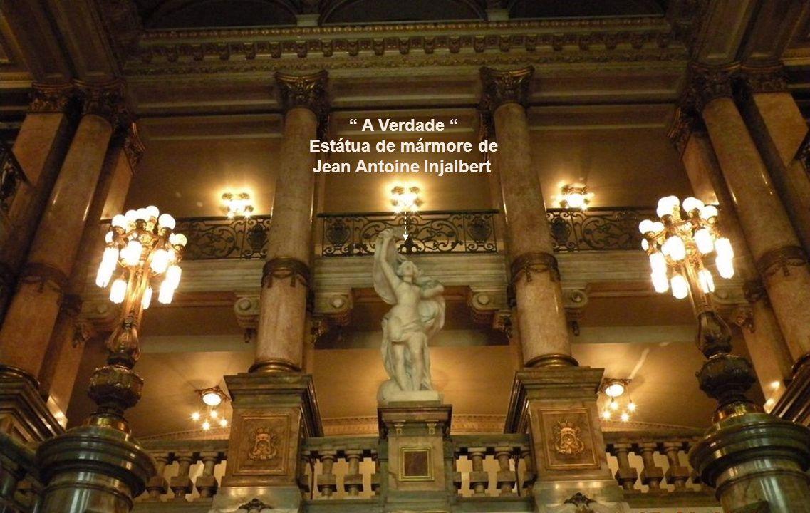 A Verdade Estátua de mármore de Jean Antoine Injalbert