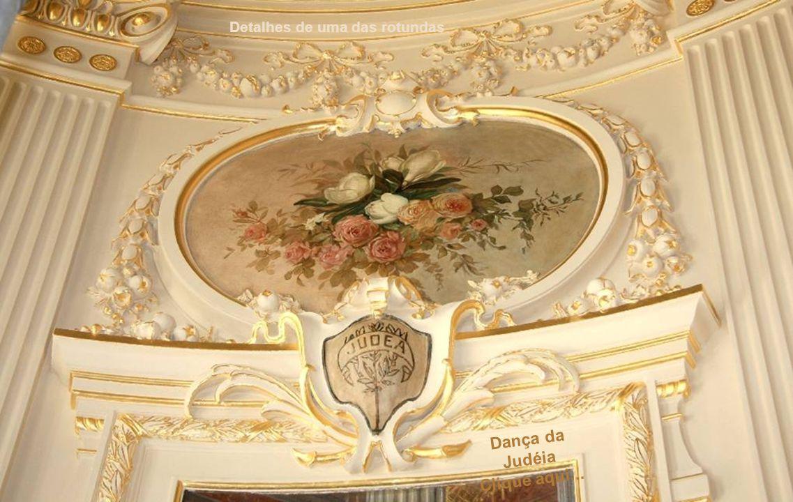 """""""A Música"""" - Painel central do foyer do 2º andar De Elyseu Visconti Não clique! Clique para avançar..."""