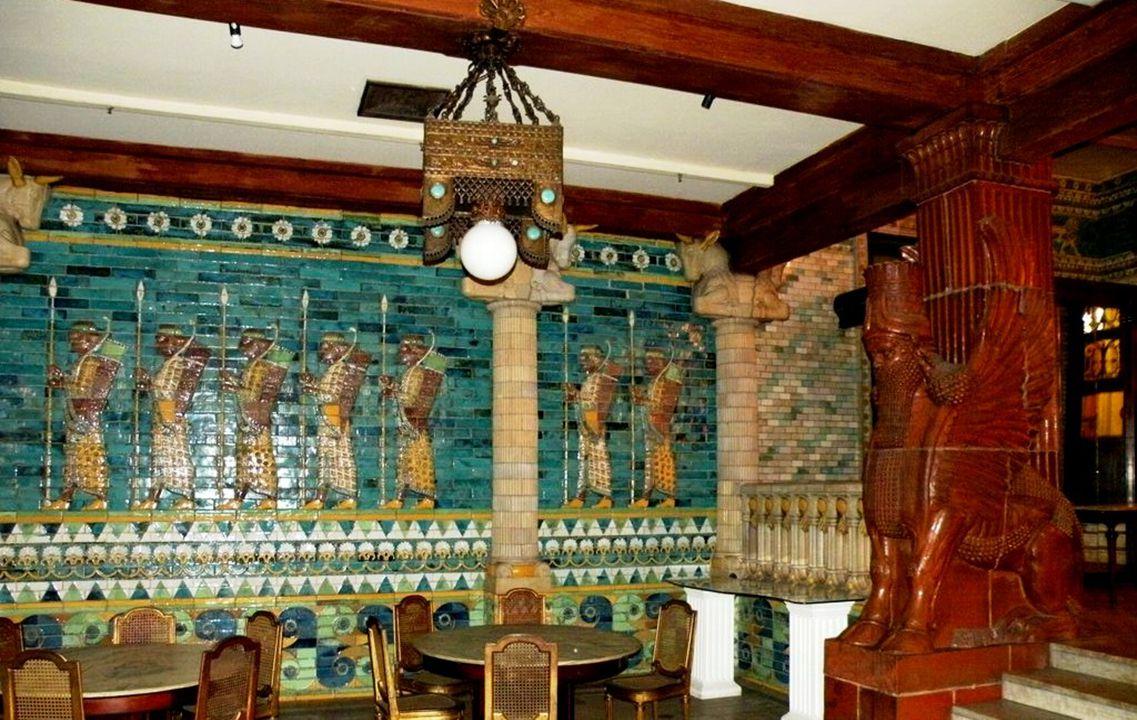 Restaurante Assyrio (subsolo do Teatro)