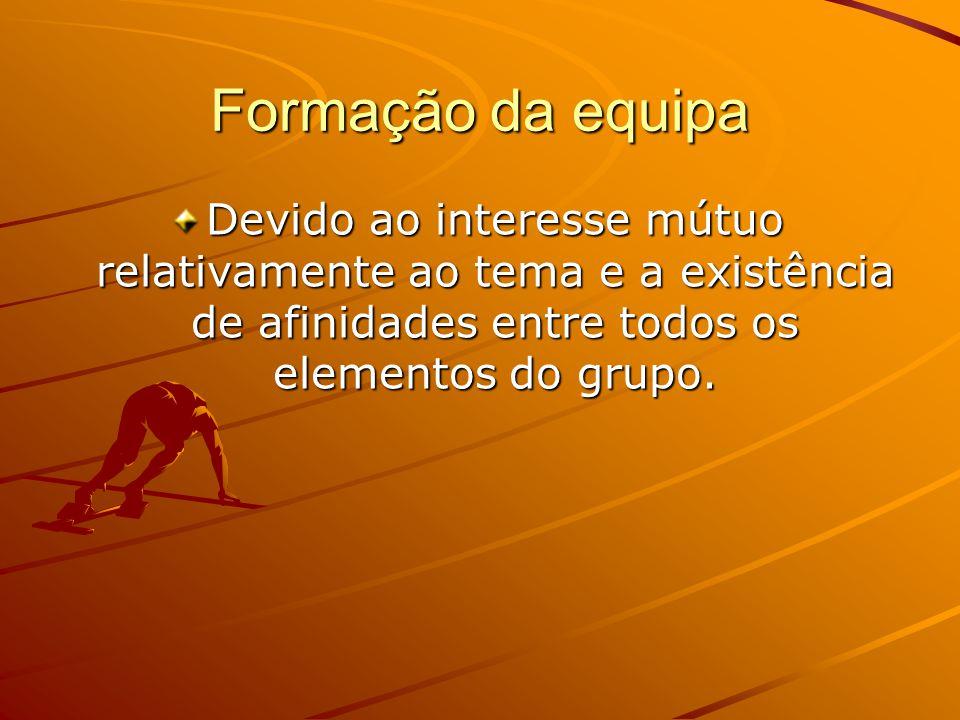 A nossa equipa Cesário Diogo Samuel Raimundo Luís A Nossa Equipa Treinador: Alberto Mascarenhas