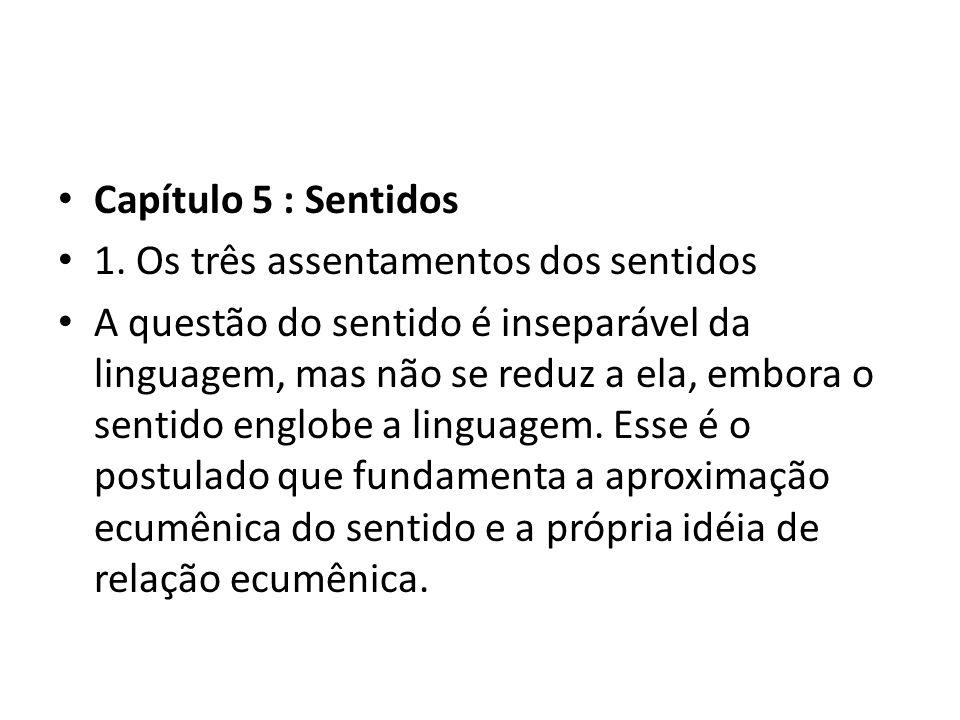 • Capítulo 5 : Sentidos • 1.
