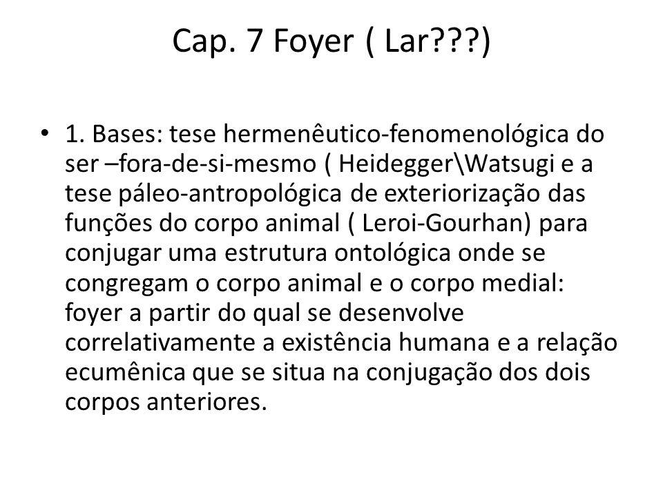 Cap. 7 Foyer ( Lar ) • 1.