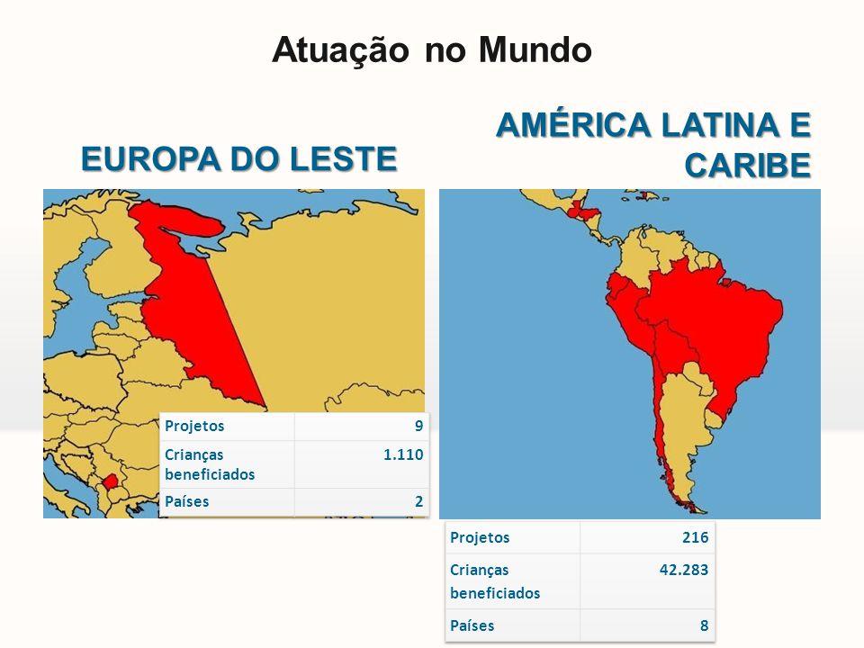 EUROPA DO LESTE AMÉRICA LATINA E CARIBE