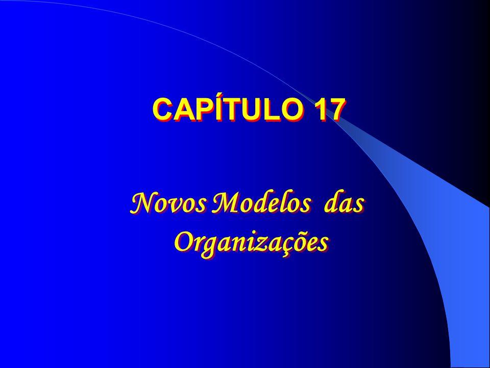 Novos Modelos das Organizações Novos Modelos das Organizações CAPÍTULO 17