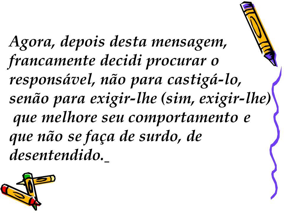 Nós temos que mudar! Um novo governante com os mesmos brasileiros não poderá fazer nada.. Está muito claro... Somos nós os que temos que mudar.