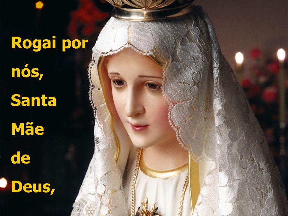 ó doce e sempre virgem, Maria! Ó clemente, ó piedosa,