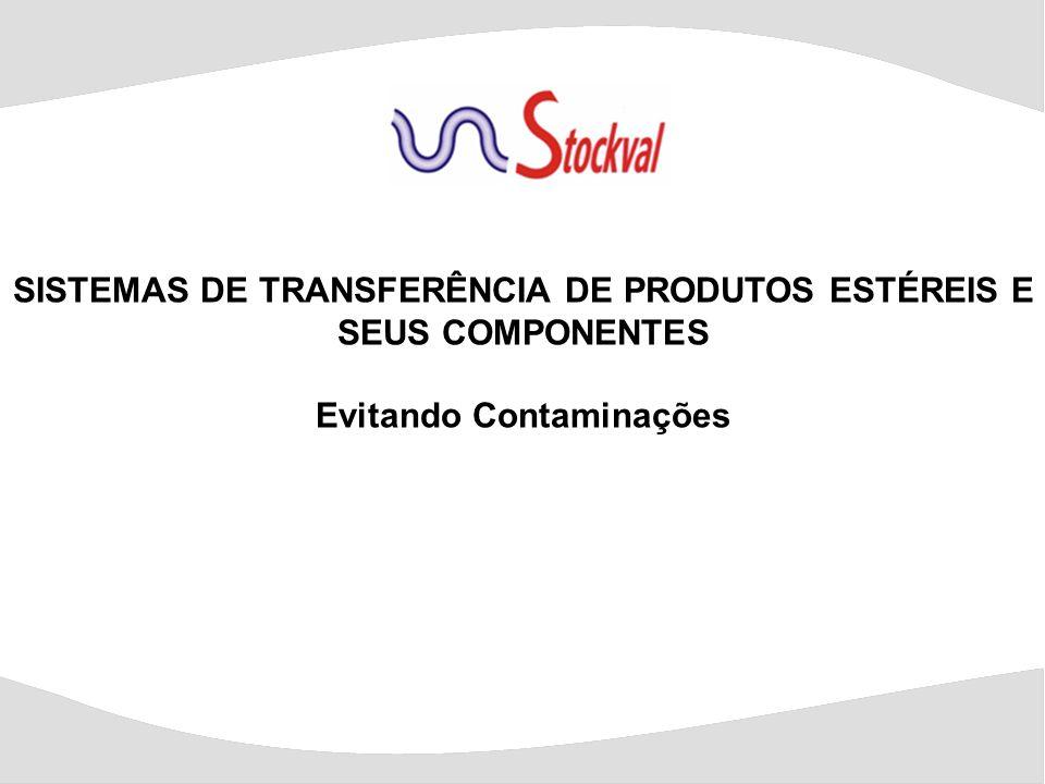 SISTEMAS DE TRANSFERÊNCIA DE PRODUTOS ESTÉREIS E SEUS COMPONENTES Evitando Contaminações