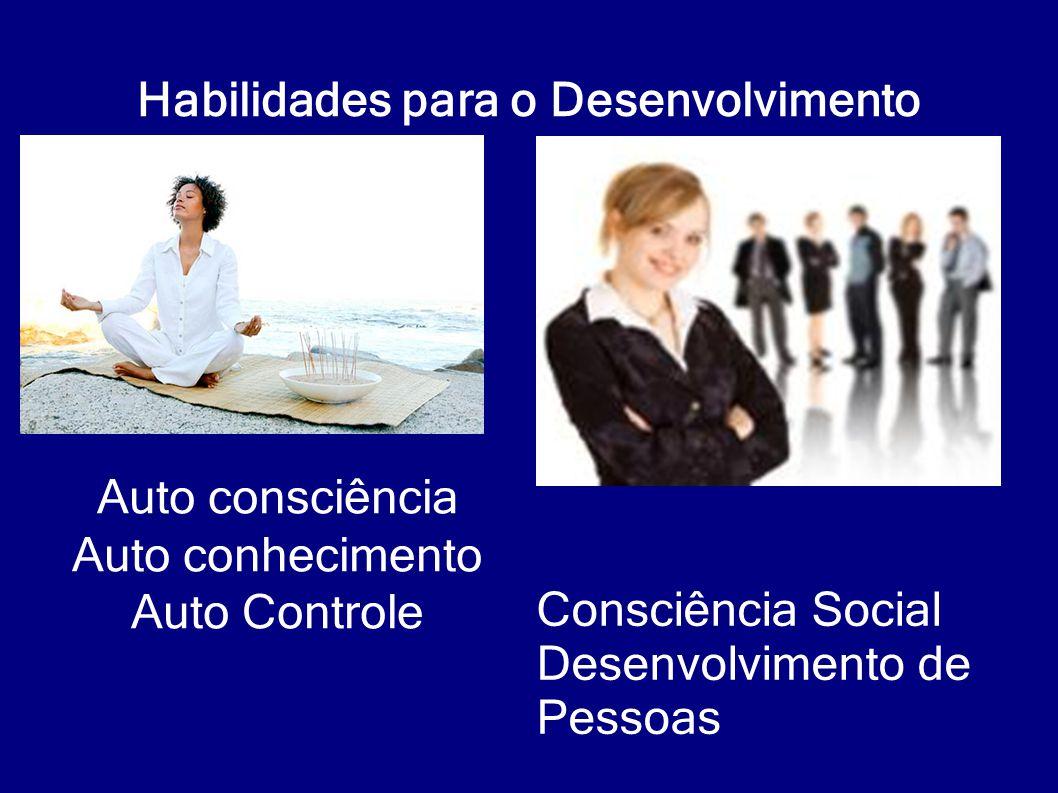 Habilidades para o Desenvolvimento Consciência Social Desenvolvimento de Pessoas Auto consciência Auto conhecimento Auto Controle
