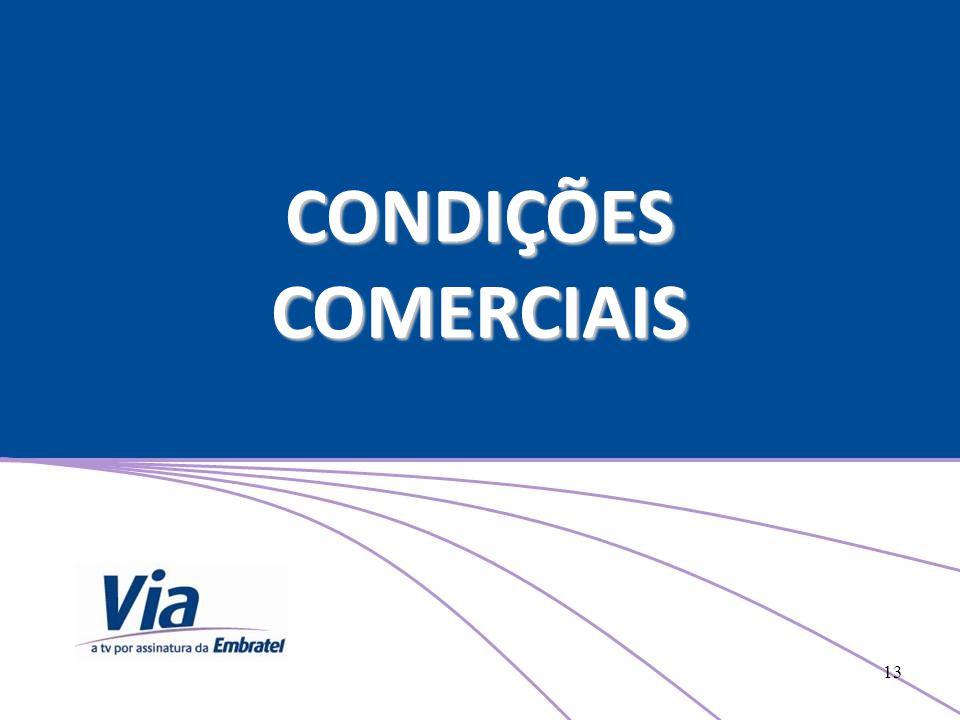 CONDIÇÕES COMERCIAIS 13