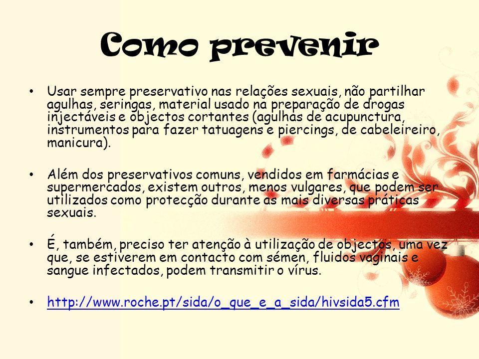 Sintomas •T•Tomem atenção a este vídeo e identifiquem quais são os sintomas desta doença. •h•http://www.youtube.com/watch?v=j61iLi -_7mc