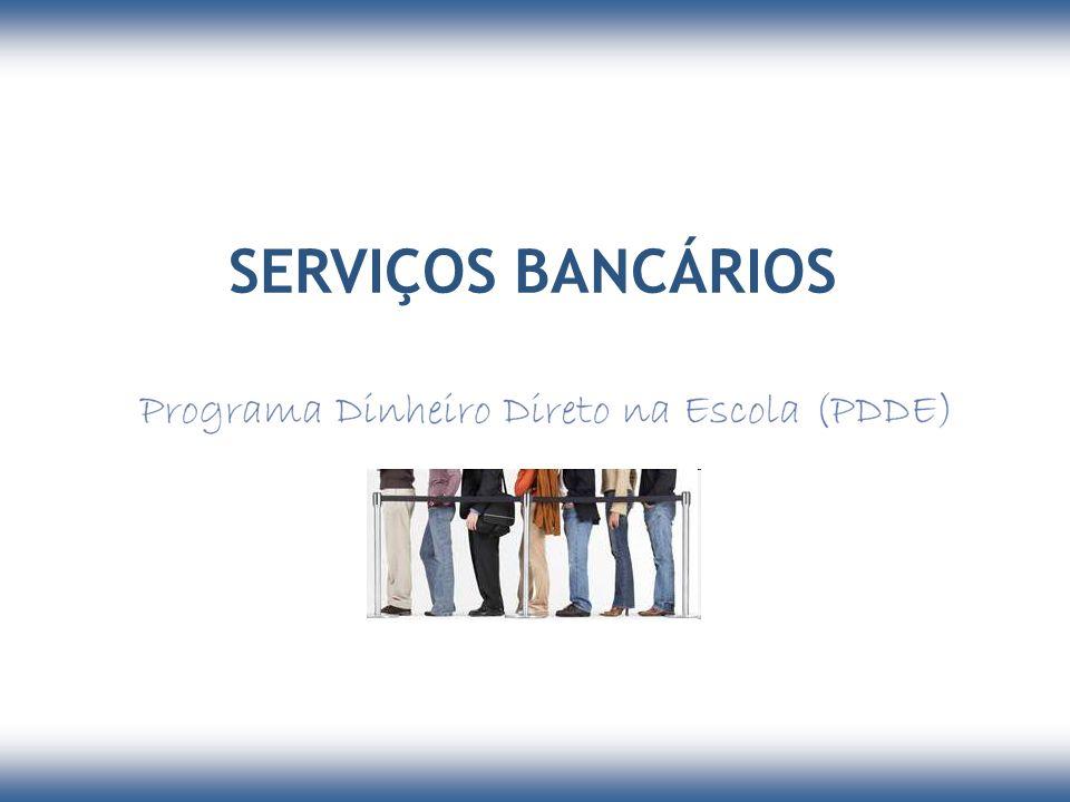 SERVIÇOS BANCÁRIOS