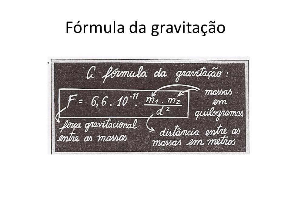 Fórmula da gravitação