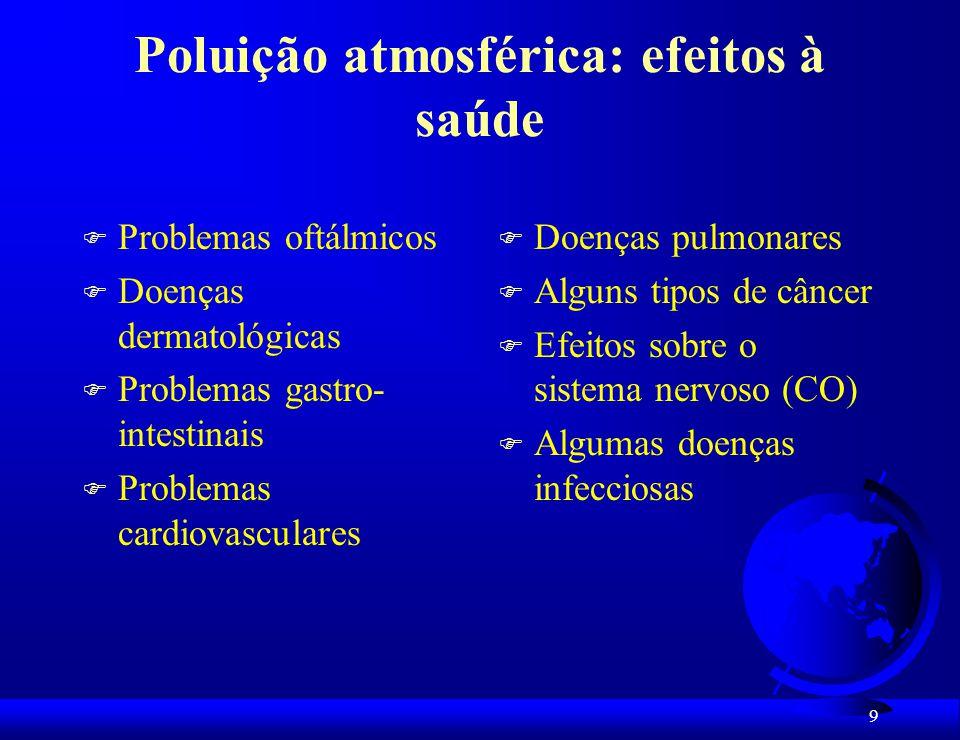 30 Resultados: Uso e ocupação do solo e arruamento da favela consistiram em fatores diferenciadores das características térmicas da atmosfera.