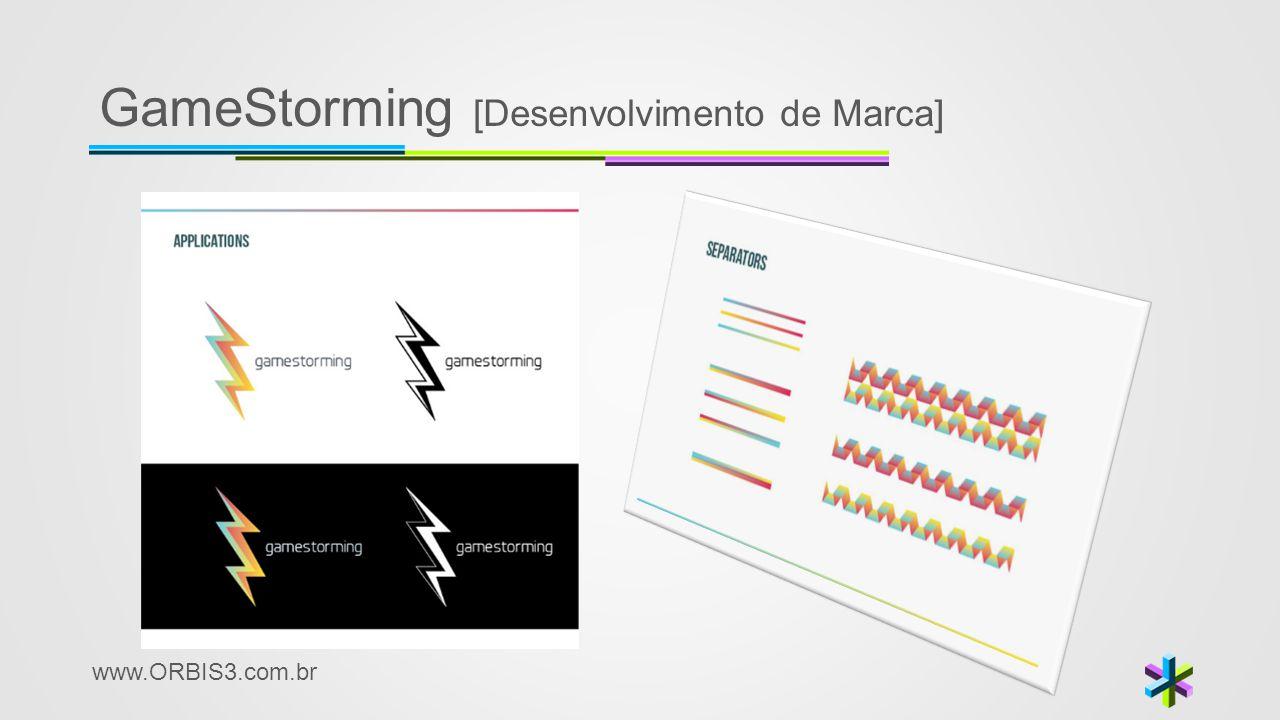 www.ORBIS3.com.br GameStorming [Desenvolvimento de Marca]