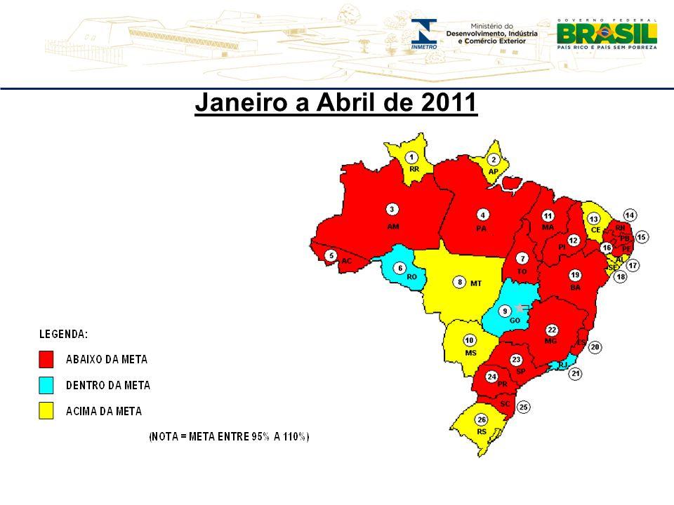 Janeiro a Abril de 2011