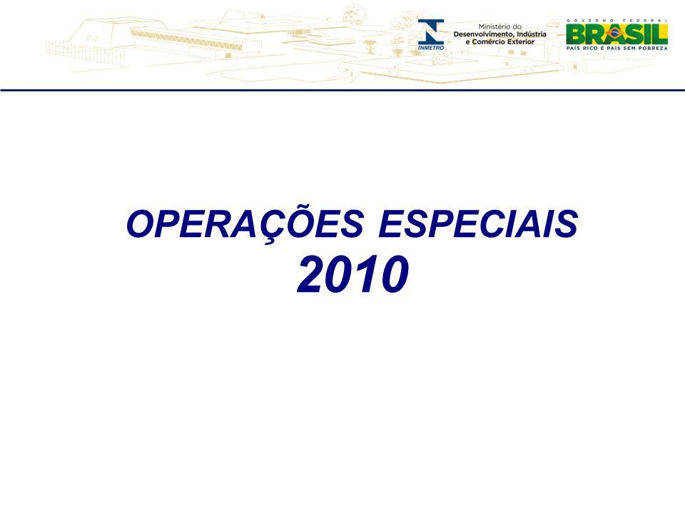 OPERAÇÕES ESPECIAIS 2010