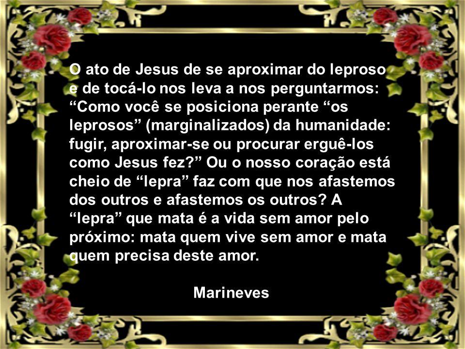 A palavra de Deus na celebração A celebração de hoje nos faz experimentar a grande compaixão de Jesus, o Filho de Deus, que diante do sofrimento humano estende a mão e promove a cura.