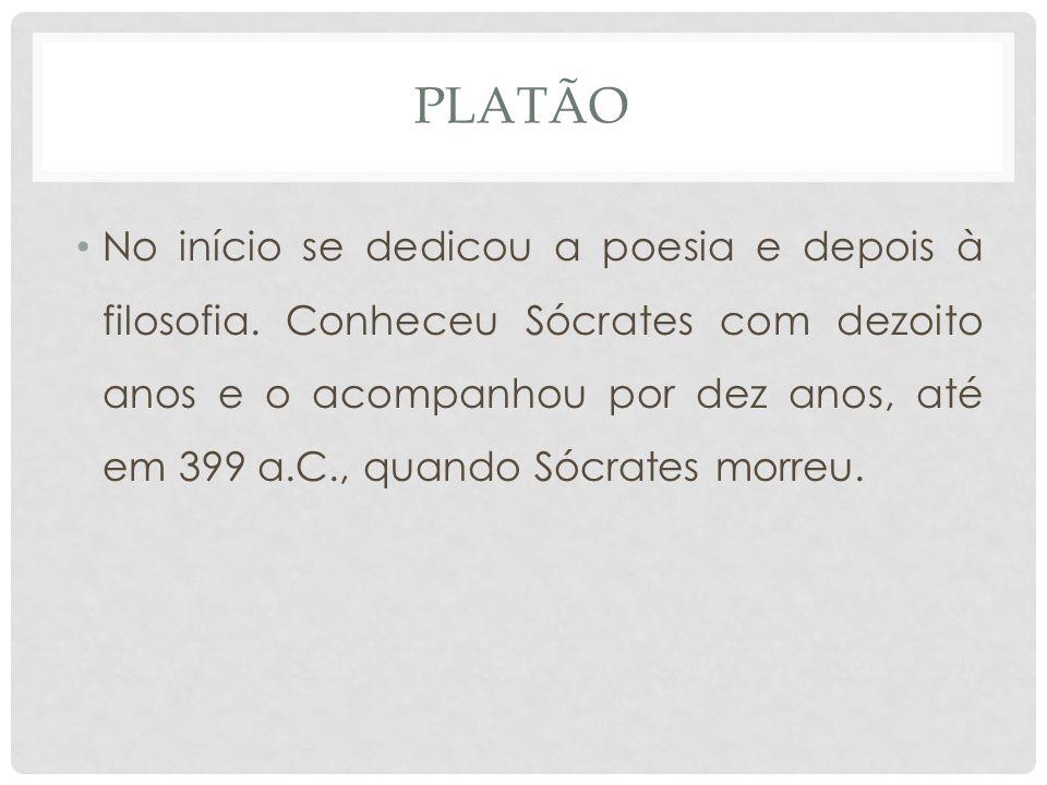 PLATÃO E SÓCRATES