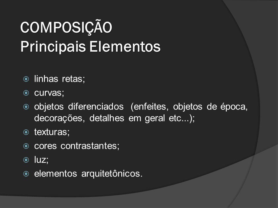 Principais elementos