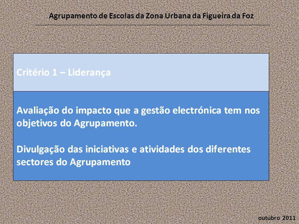 outubro 2011 Agrupamento de Escolas da Zona Urbana da Figueira da Foz