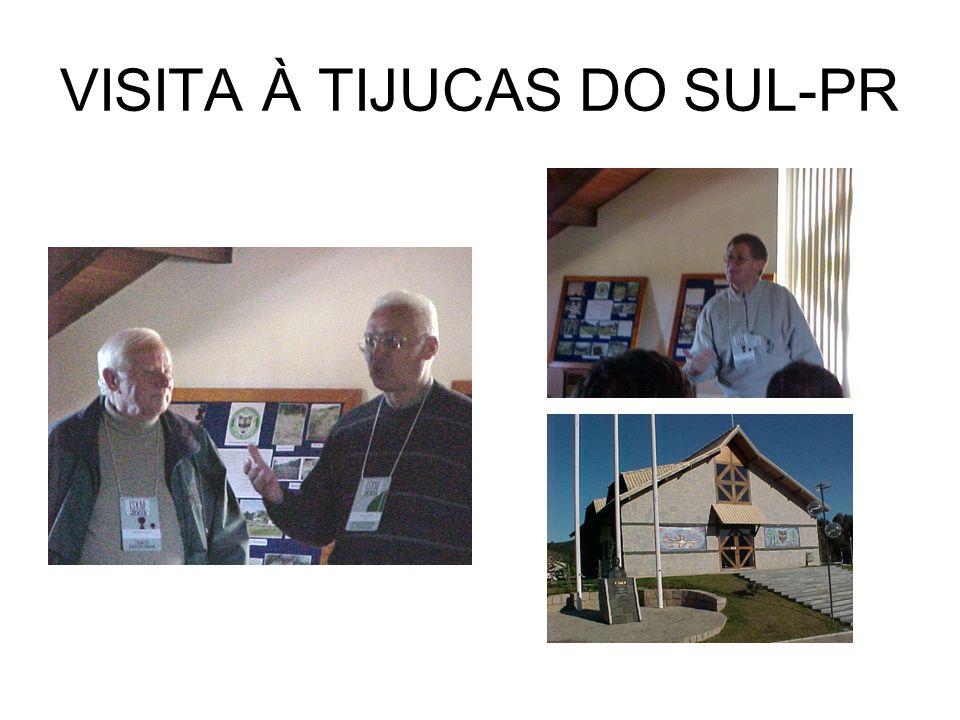 VISITA À TIJUCAS DO SUL-PR