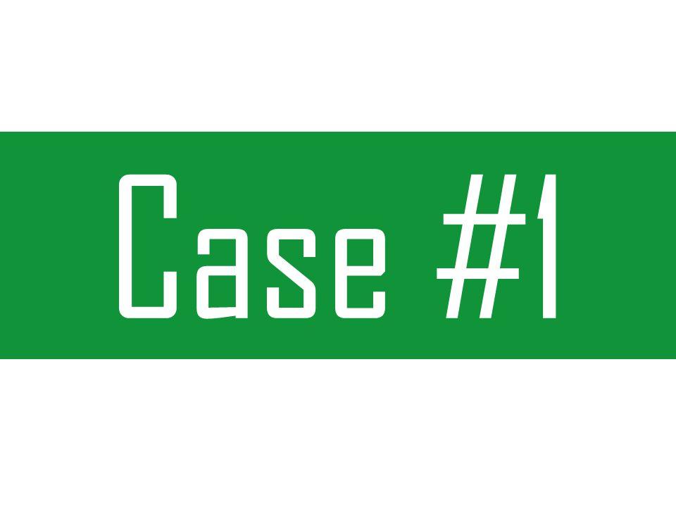 Cenário de inicio Case # 1 Início da campanha junto com a abertura da empresa Links Patrocinados como única forma de publicidade Nicho de mercado muito concorrido em PPC Valor estimado de clique R$ 1,20