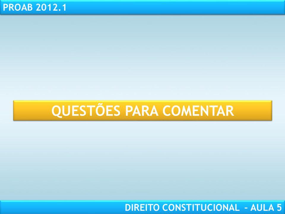 RESPONSABILIDADE CIVIL AULA 1 PROAB 2012.1 DIREITO CONSTITUCIONAL – AULA 5  INFIDELIDADE PARTIDÁRIA  Conceito: É a desfiliação partidária sem justa