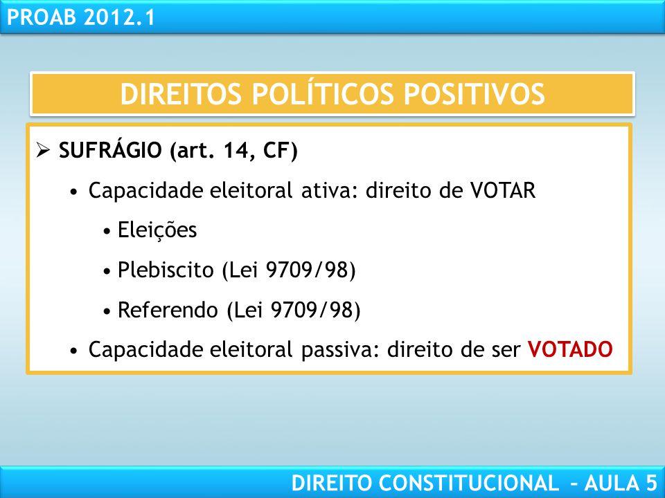 RESPONSABILIDADE CIVIL AULA 1 PROAB 2012.1 DIREITO CONSTITUCIONAL – AULA 5  O REGIME DEMOCRÁTICO (art. 1º, §único, CF):  Democracia DIRETA ou PARTIC