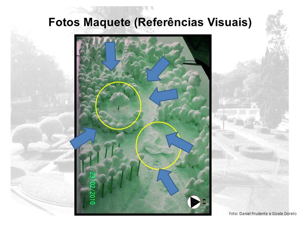 Fotos Maquete (Referências Visuais) Foto: Daniel Prudente e Gisele Doreto