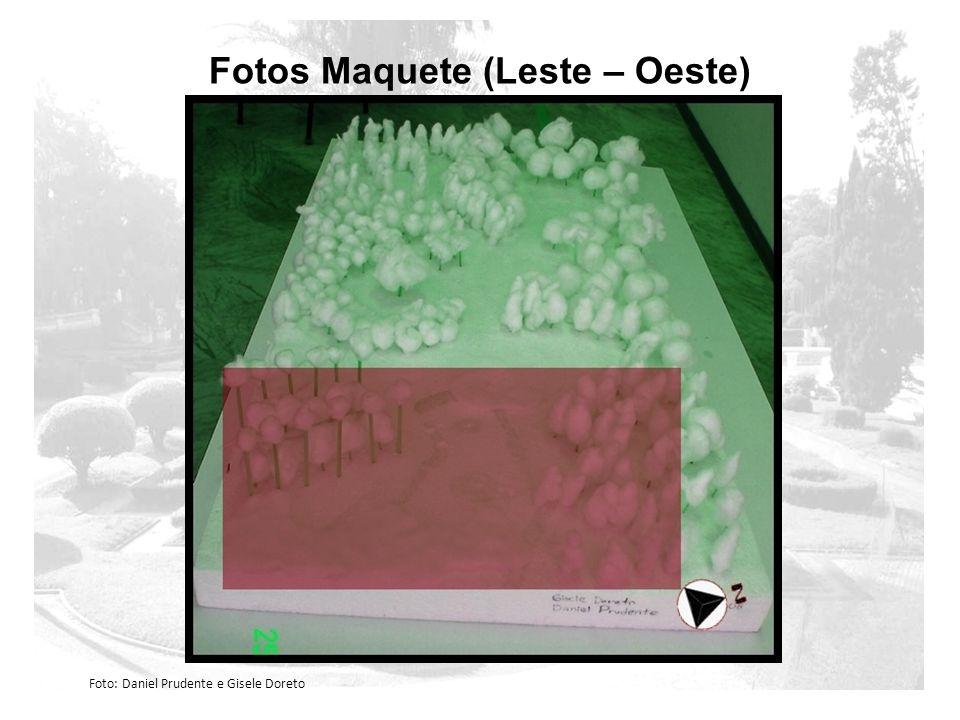 Fotos Maquete (Leste – Oeste) Foto: Daniel Prudente e Gisele Doreto