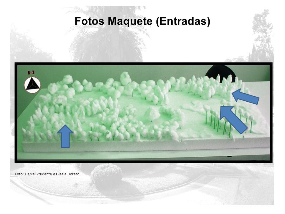Fotos Maquete (Entradas) Foto: Daniel Prudente e Gisele Doreto