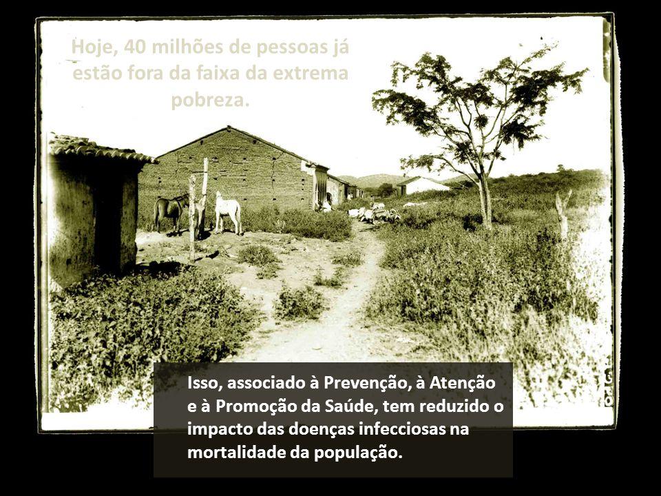 Isso, associado à Prevenção, à Atenção e à Promoção da Saúde, tem reduzido o impacto das doenças infecciosas na mortalidade da população.