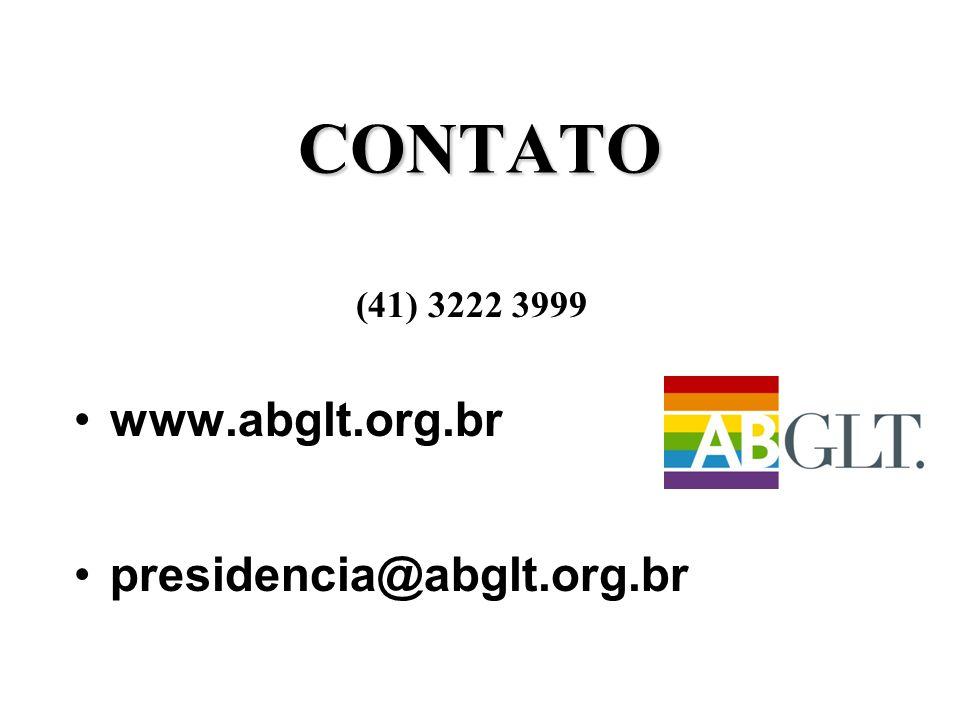CONTATO (41) 3222 3999 •www.abglt.org.br •presidencia@abglt.org.br