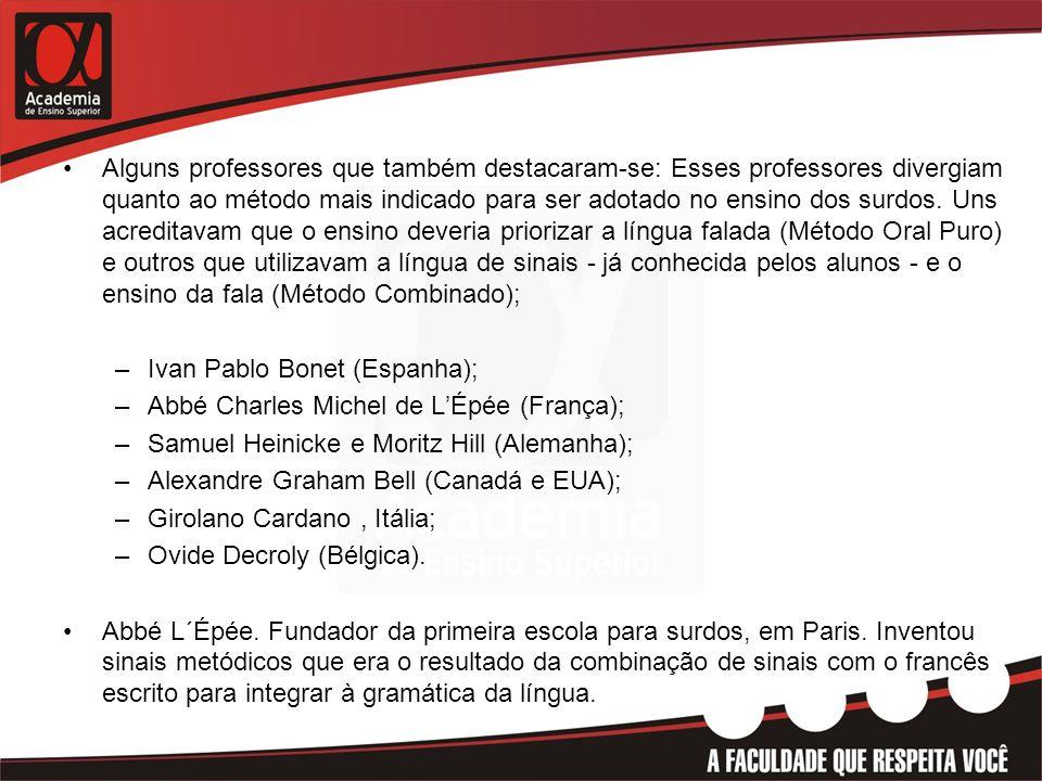 HISTÓRIA DO SURDO NO BRASIL •1857 - A convite de D.