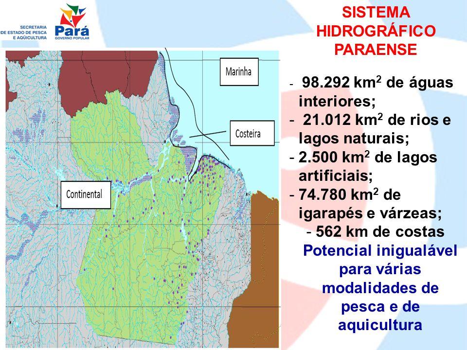 Missão Promover o desenvolvimento sustentável integrado da pesca e da aqüicultura do Estado do Pará, em todas as suas modalidades, incrementando os benefícios sociais e econômicos, visando o bem- estar das gerações presentes e futuras.