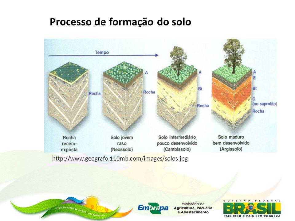 Processo de formação do solo http://www.geografo.110mb.com/images/solos.jpg