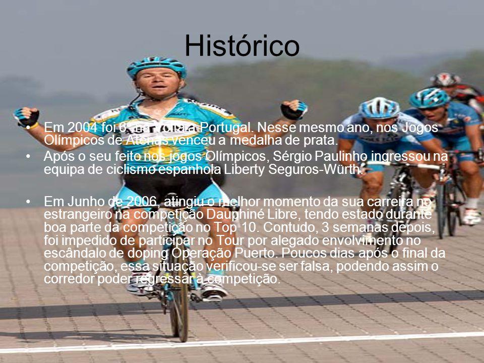 Quem é. •Sérgio Miguel Moreira Paulinho (nascido a 26 de Março, 1980) é um ciclista Português.