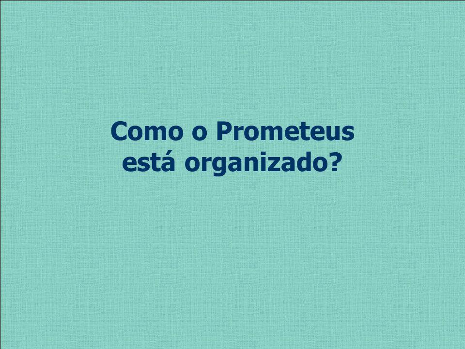 Como o Prometeus está organizado?