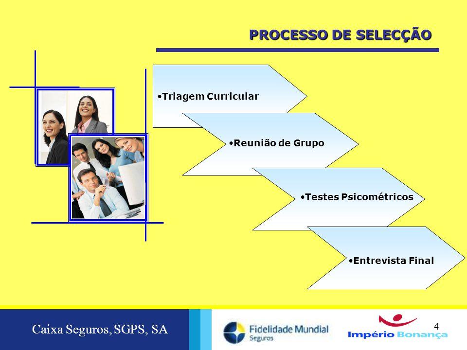 Caixa Seguros, SGPS, SA 5 2010  PLANO DE FORMAÇÃO