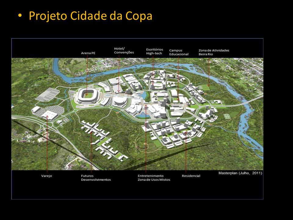 • Projeto Cidade da Copa