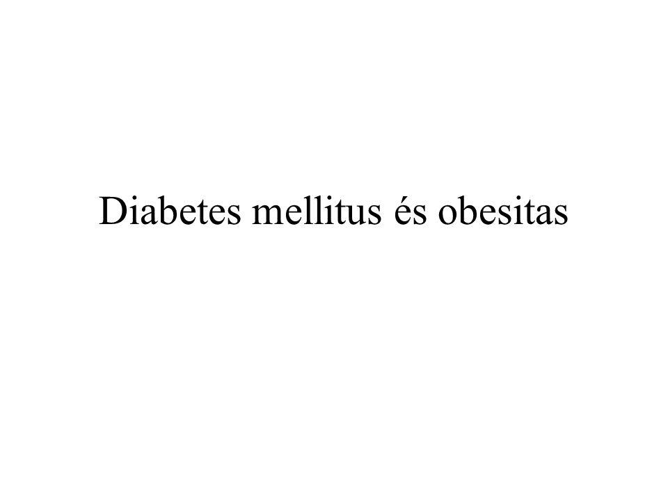 Diabetes mellitus és obesitas