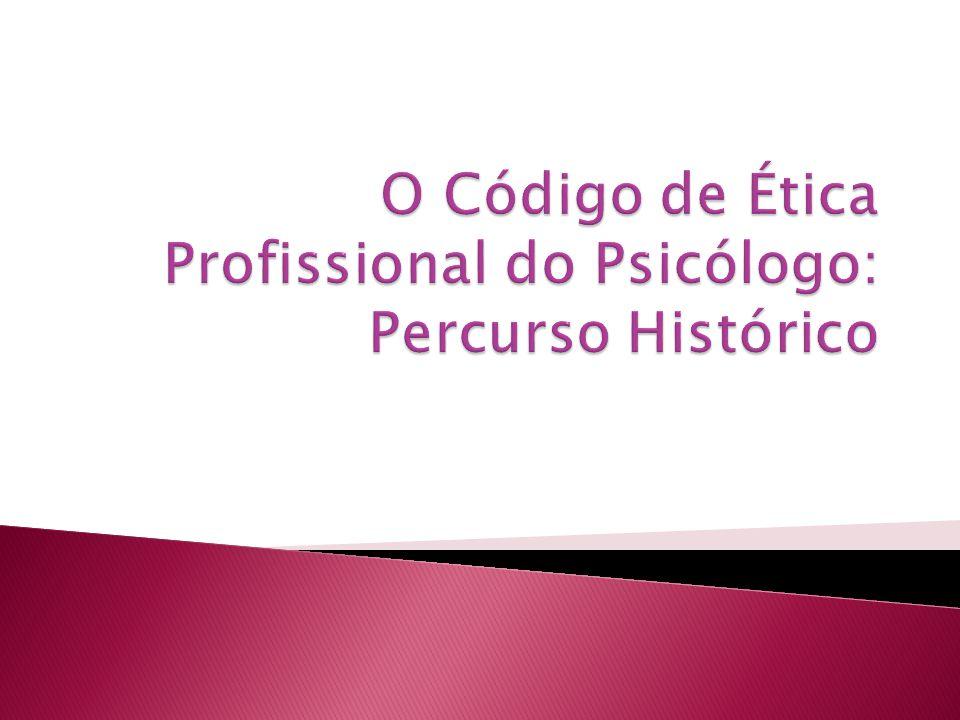  1960 – A disciplina de psicologia começou a ser ministrada em território nacional, aplicado ao problemas educacionais  Lei 4119 – Formaliza a psicologia como profissão em 27 de agosto de 1962.