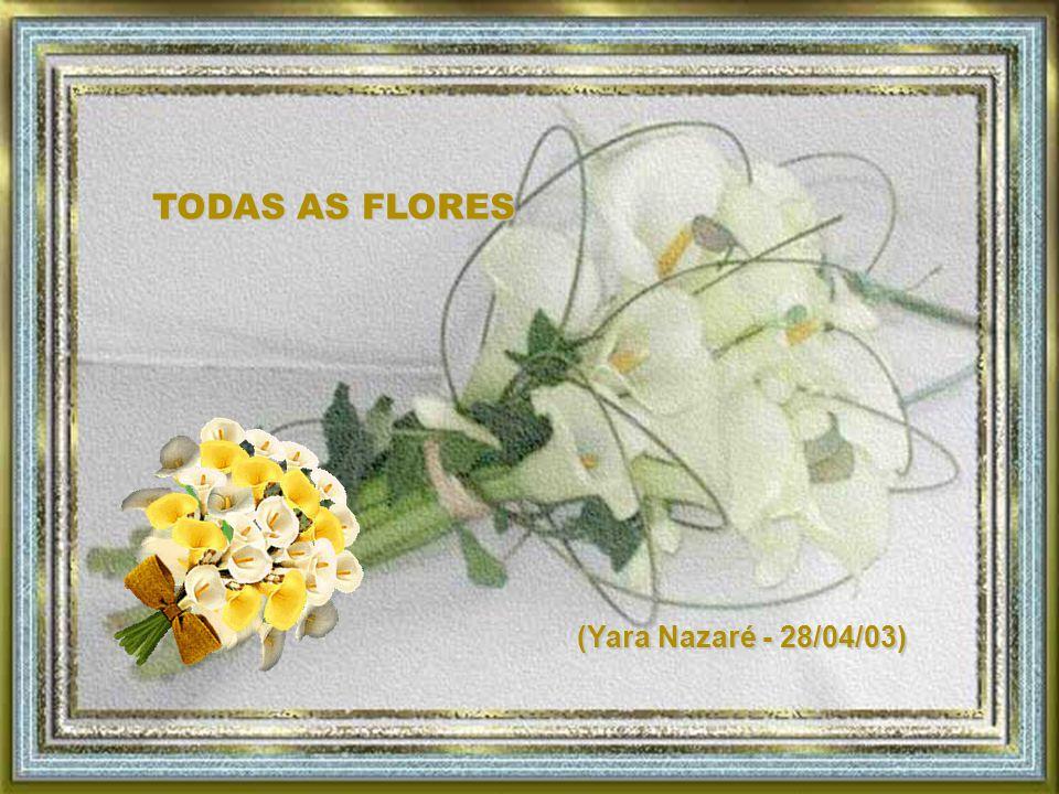 TODAS AS FLORES (Yara Nazaré - 28/04/03)