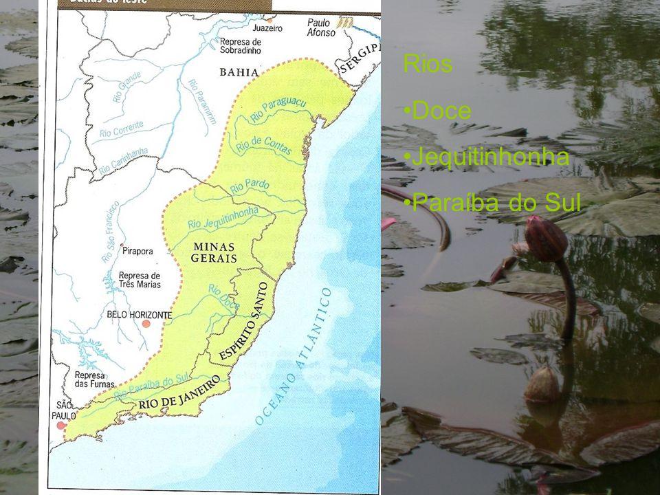 Rios Doce Jequitinhonha Paraíba do Sul