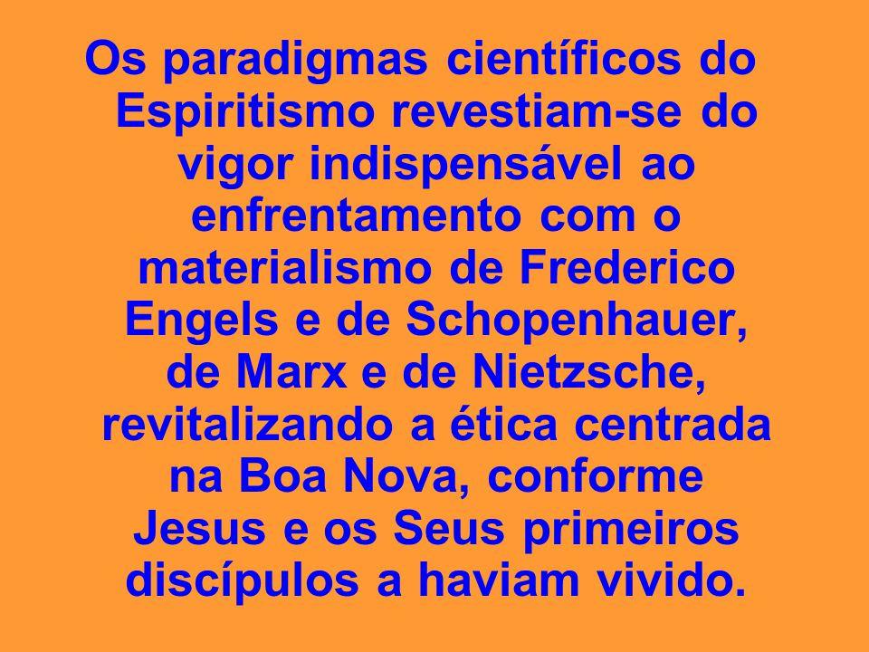 Os Espíritos, considerados mortos, romperam o apavorante silêncio a que foram relegados e proclamaram os lídimos ensinos do Cristo como fundamentais à