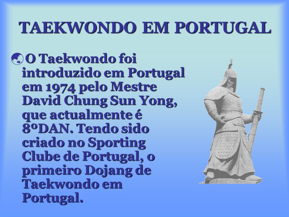 O Taekwondo