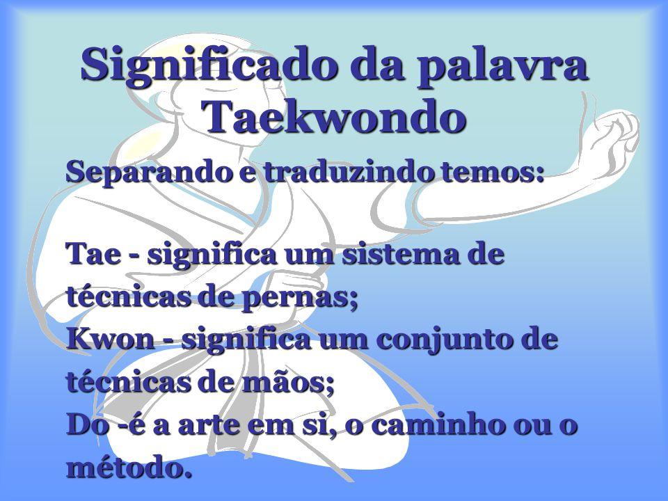 Em 1973, o Taekwondo alcança a sua primeira grande realização internacional: o Campeonato do Mundo.  Em 1973, o Taekwondo alcança a sua primeira gran