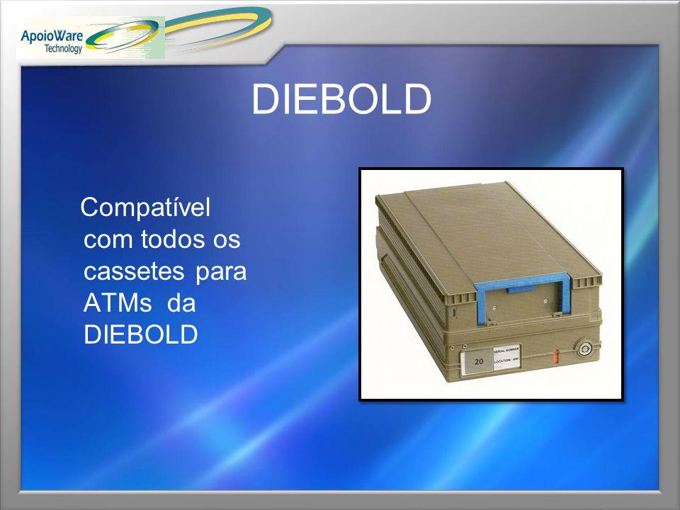 DIEBOLD Compatível com todos os cassetes para ATMs da DIEBOLD