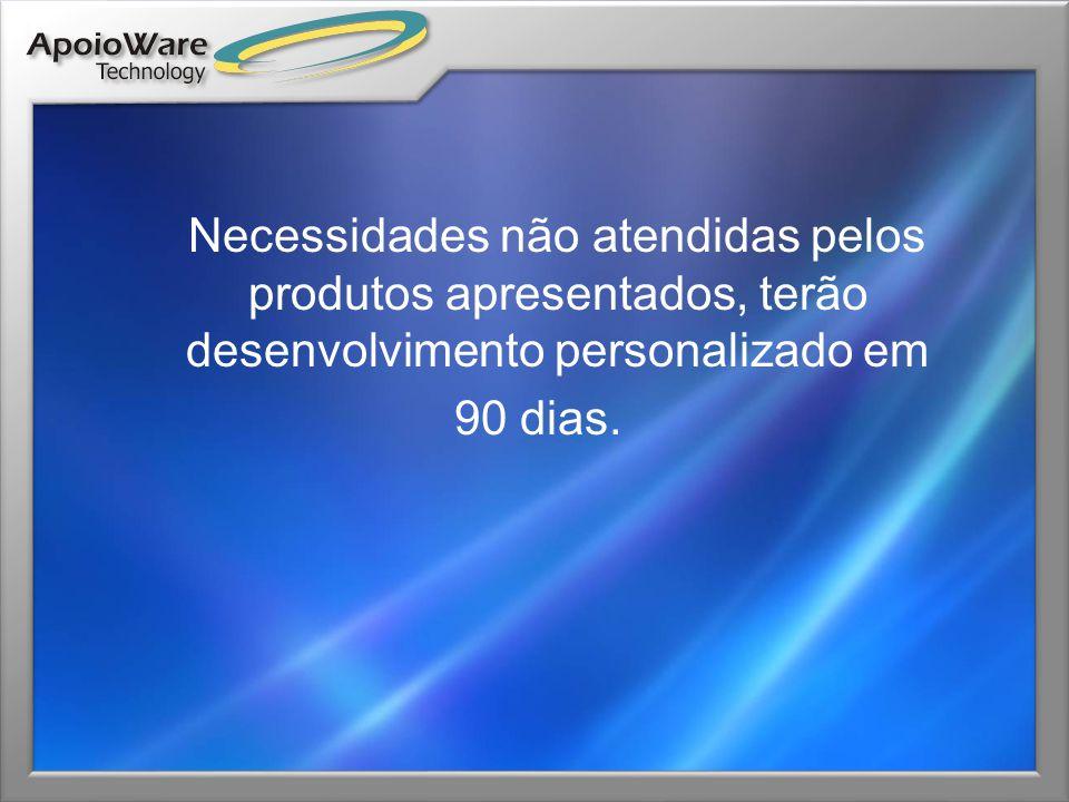 Contatos www.apoioware.com www.apoioware.com Fernando Fernandes do Nascimento Fernando.fernandes@apoioware.com +55 11 8174-6275 Francisco Bernabeu Francisco.bernabeu@apoioware.com +55 11 8173-2914 Marco Manfrini Marco.manfrini@apoioware.com +55 11 7606-6250