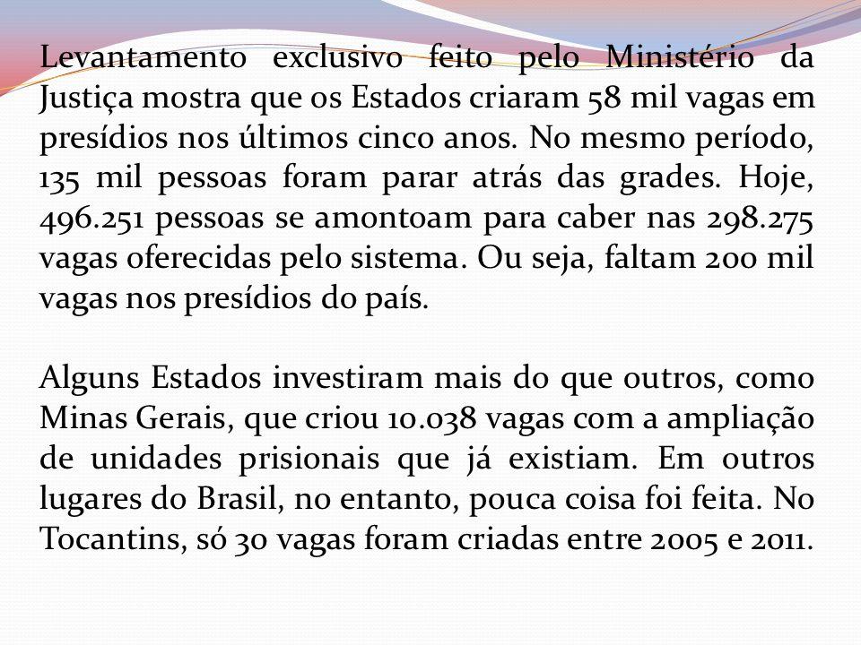 Pelo fato de apresentar índices de reincidência tão pequenos ( inferiores a 5 por cento ), e tratar o preso como um ser humano detentor de direitos e deveres, tal modelo tem alcançado repercussão no Brasil e no exterior.